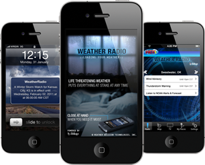 New iMap®Weather Radio App for iPhone, iPad and iPod Touch Unveiled at CTIA