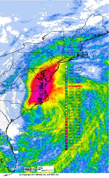 Hurricane Irene – The biggest impacts are not going to be winds.