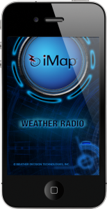 WDT's iMapWeather Radio App for iPhone, iPad and iPod Touch