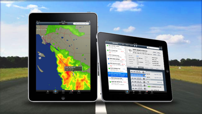 ForeFlight Mobile 3 HD Launches on the Apple iPad with WDT Radar and Satellite