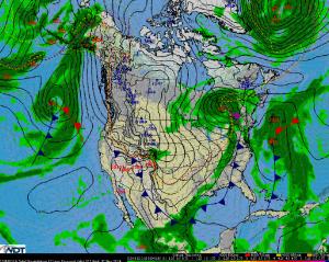 National Weather Summary for Wednesday, November 12, 2014
