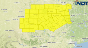 Tornado Watch for Portions of Texas
