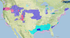 National Weather Summary for Friday, November 14, 2014