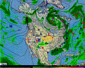 Hazardous Weather Outlook for Friday, July 31, 2015
