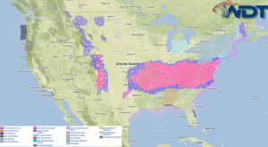 National Weather Summary for Monday, February 16, 2015
