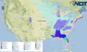 National Weather Summary for Wednesday, February 18, 2015