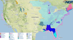 National Weather Summary for Thursday, February 19, 2015