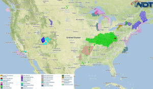Current NWS Advisories/Watches/Warnings in iMapPro