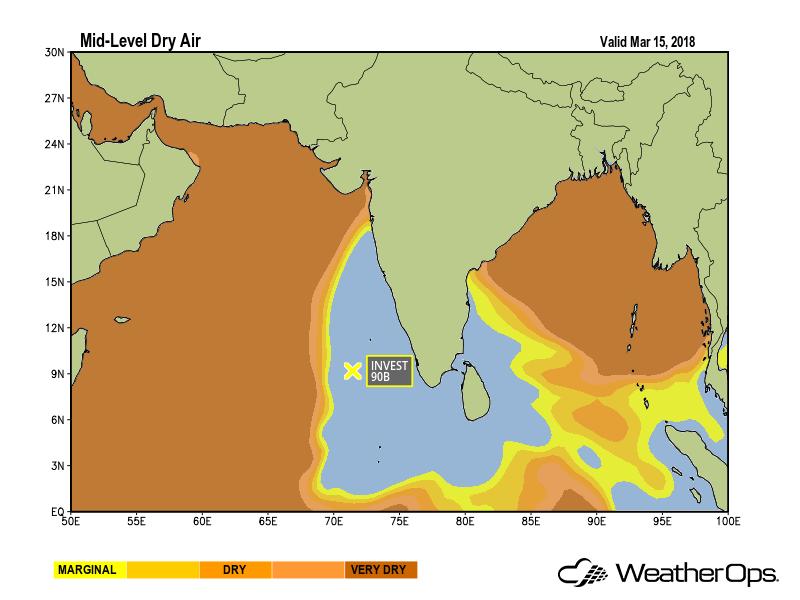 Dry Air Indian Ocean