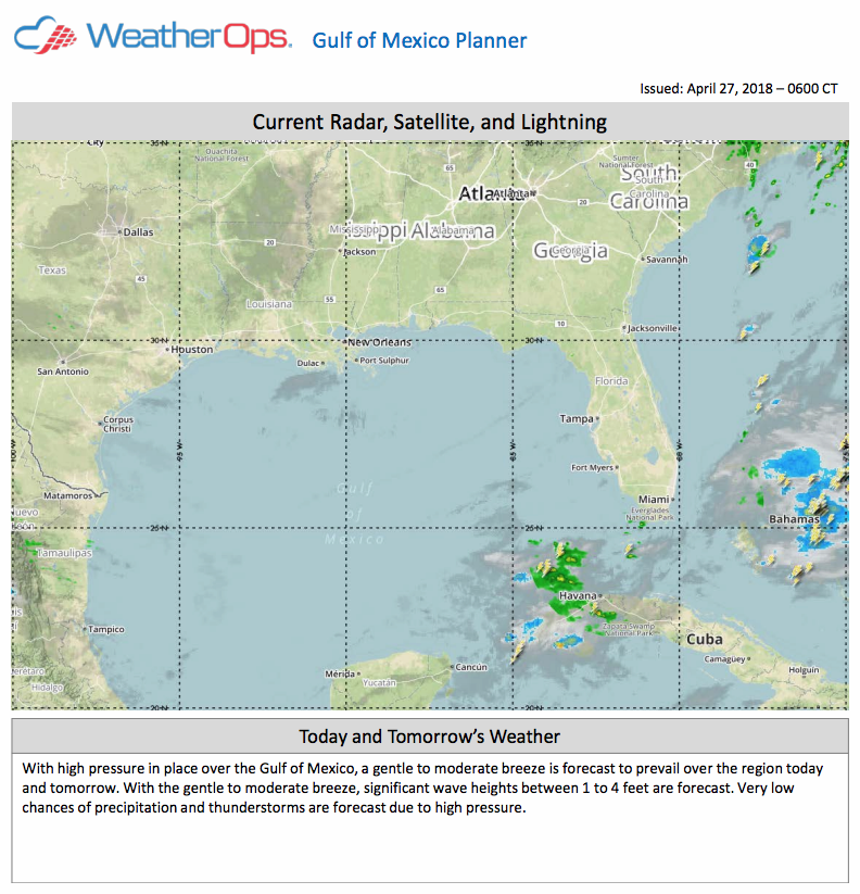 Gulf of Mexico Planner