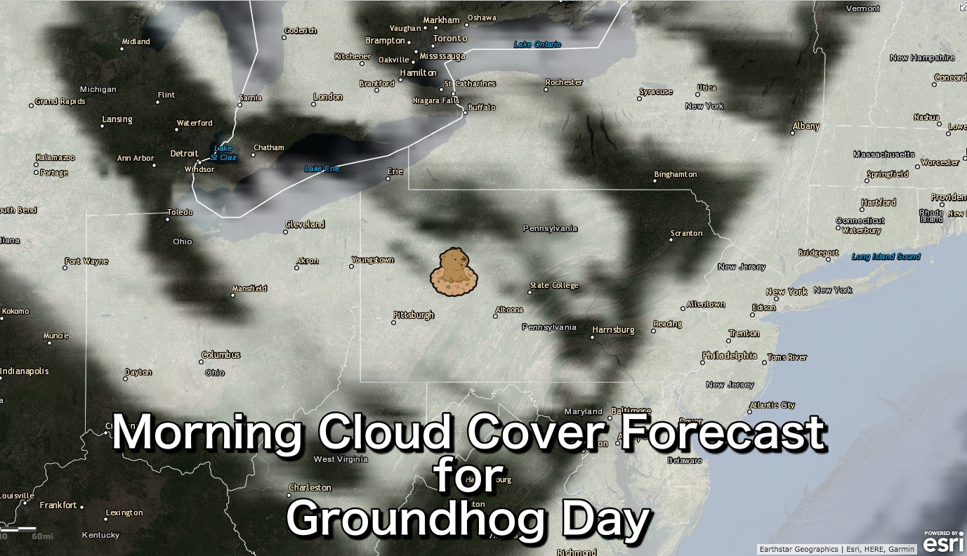 Morning Cloud Cover Forecast- February 2, 2018