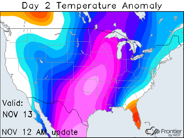 Day 2 Temperature Anomaly