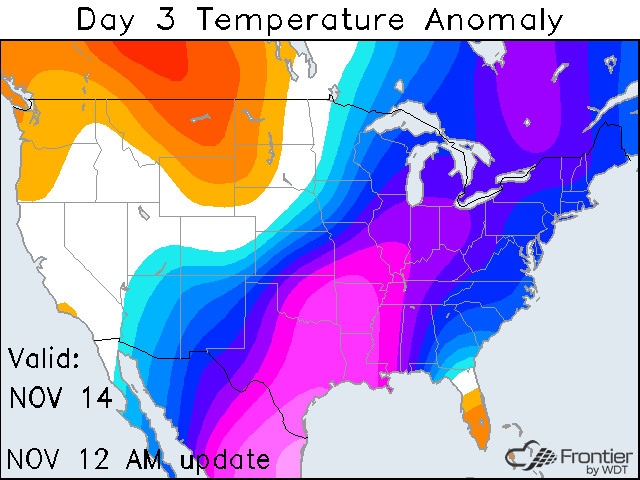 Day 3 Temperature Anomaly