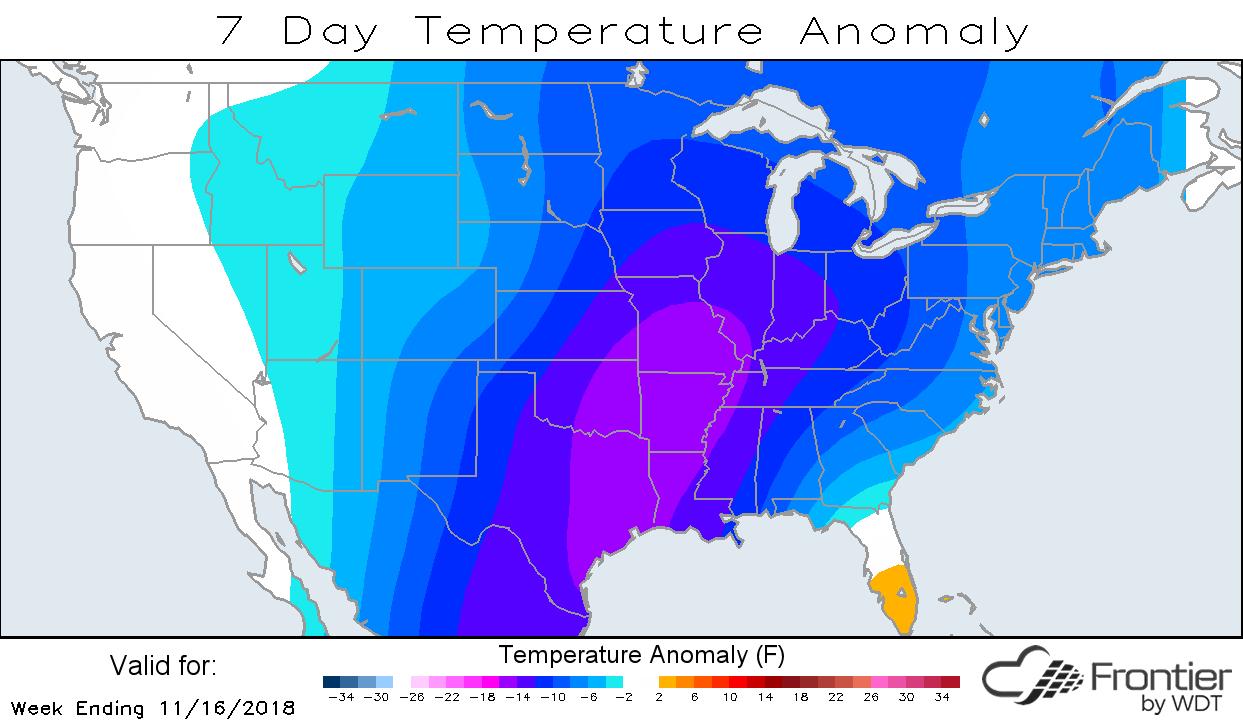 7-Day Temp Anomaly