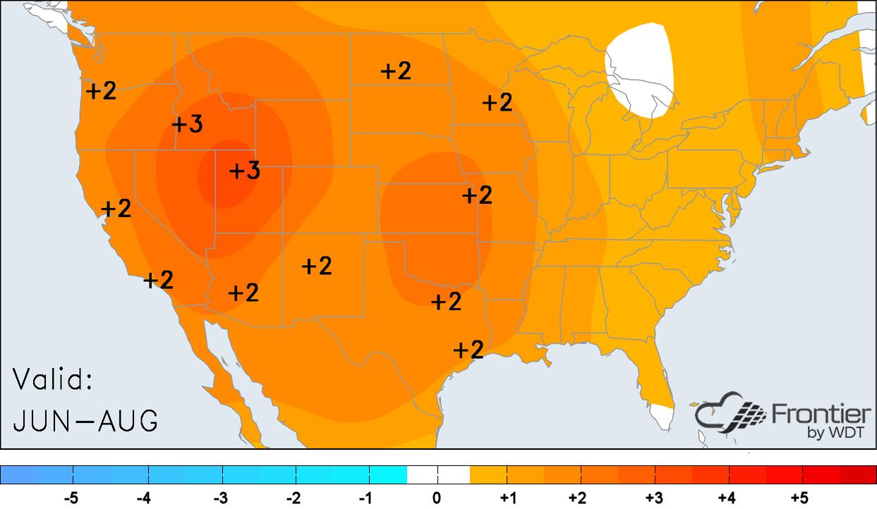 Summer 2018 Temperature Outlook