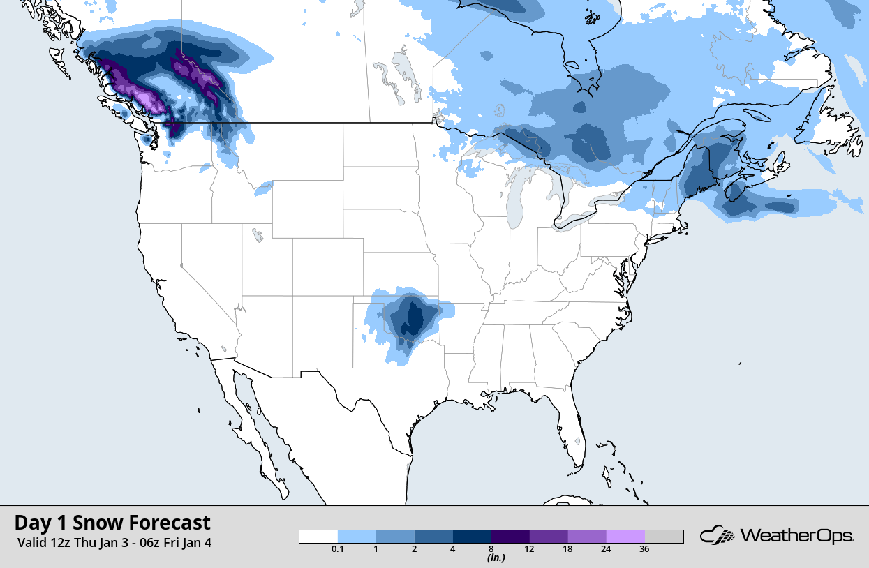 WeatherOps Snow Accumulation
