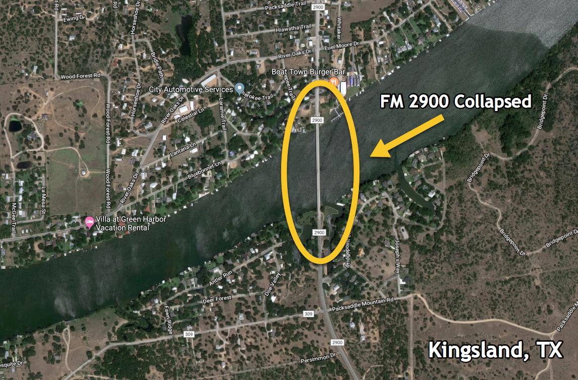 FM 2900 in Kingsland, TX
