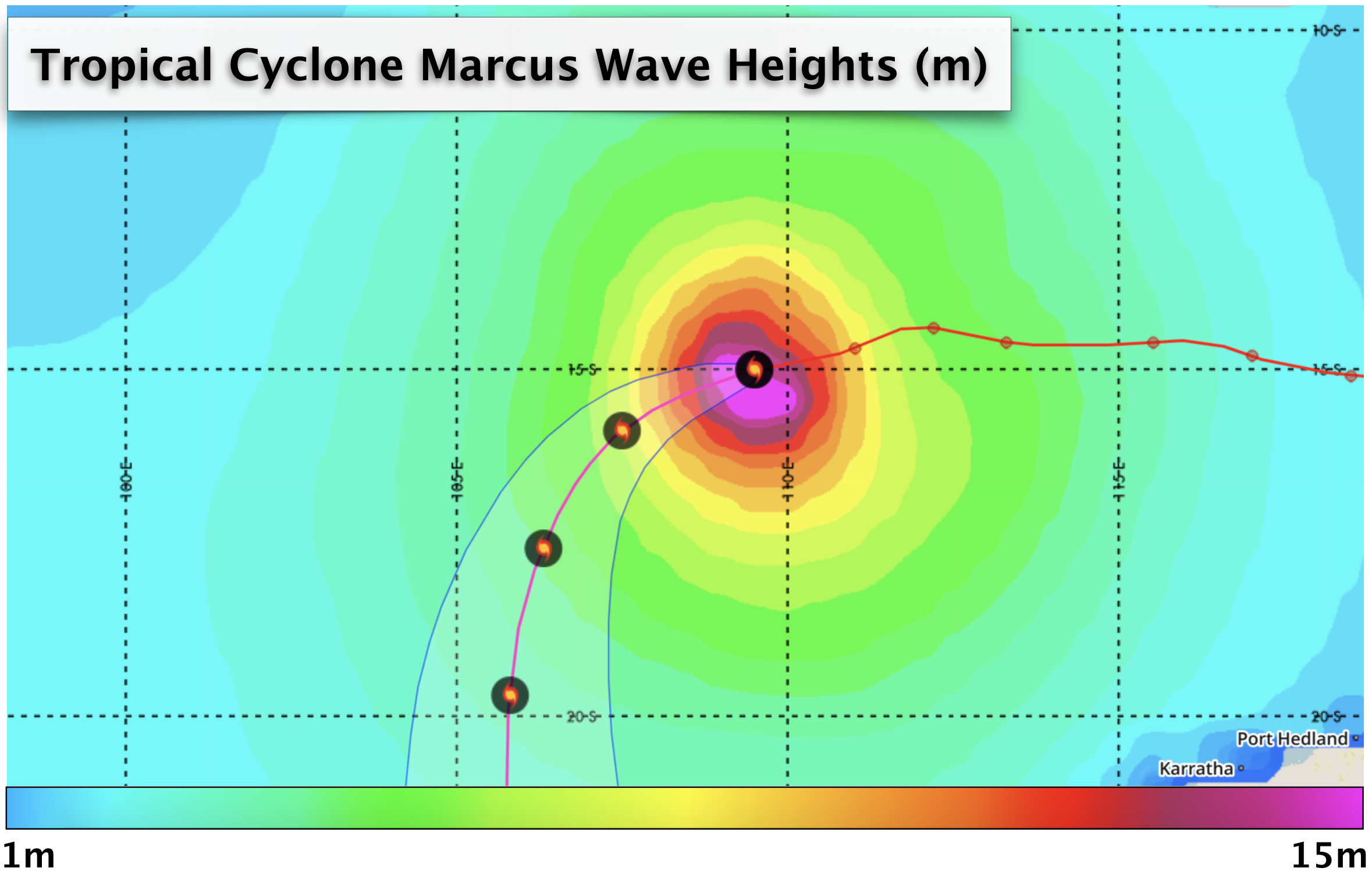 Marcus Wave Heights