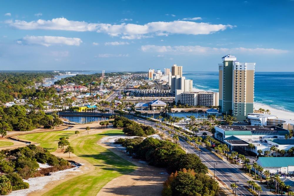 Panama City Beach FL Skyline