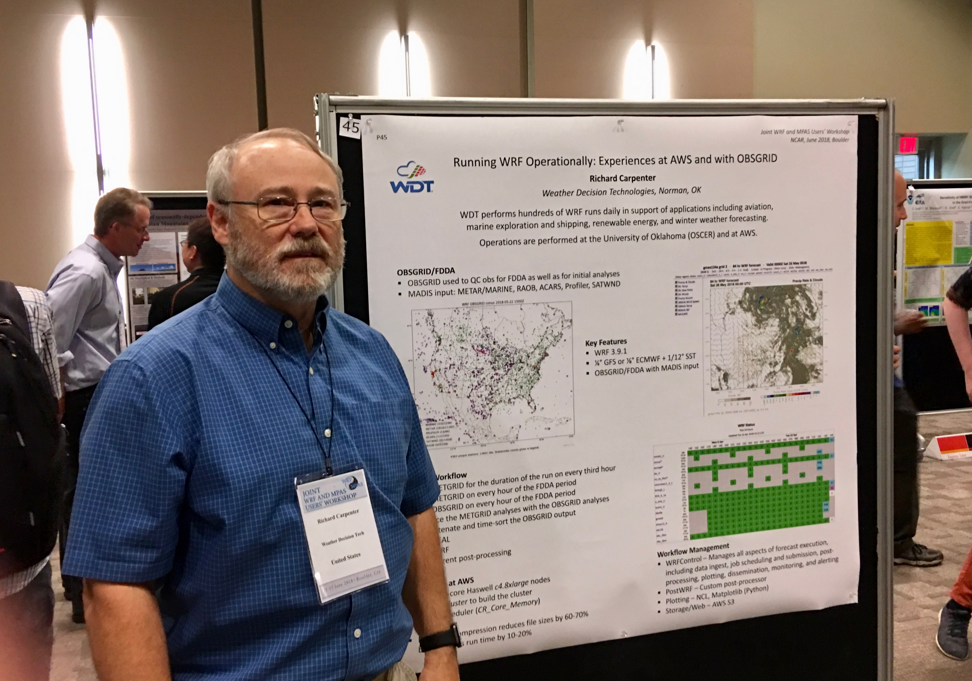 Dr. Richard Carpenter Poster Presentation