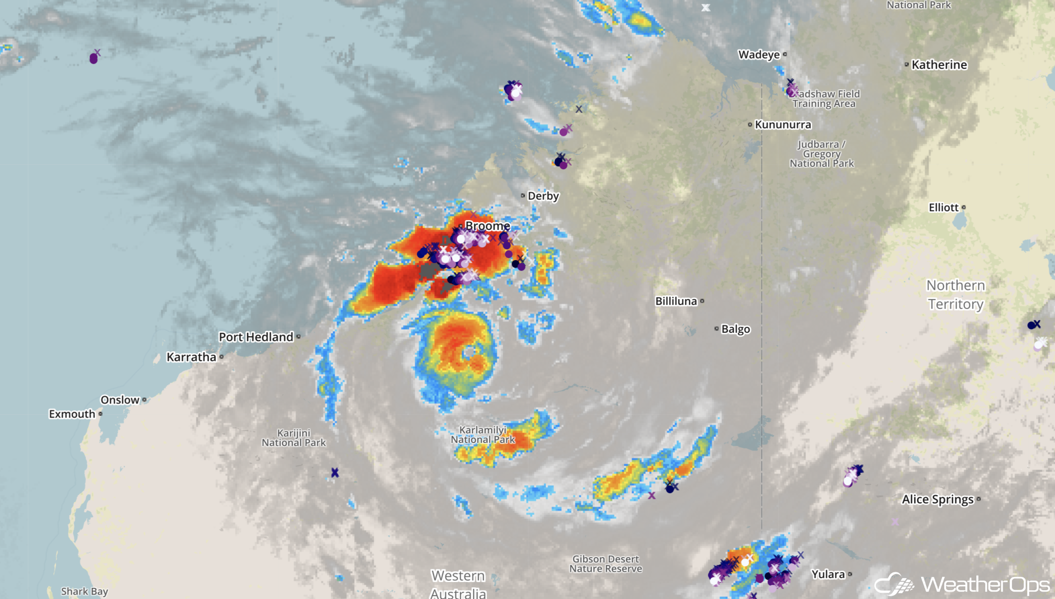 WeatherOps- Tropical Cyclone Kelvin