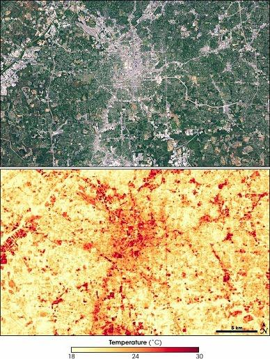 Atlanta Satellite Image