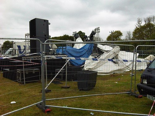 Stage Collapse and Bearded Theory Festival