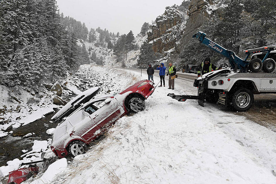 Snow in Colorado - October 1, 2017 (courtesy of The Durango Herald)