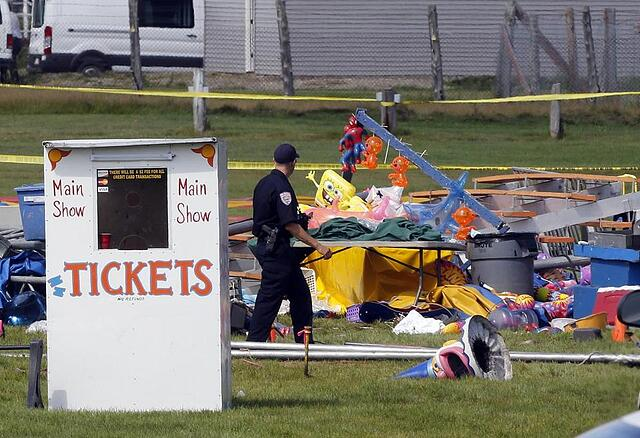 Circus Tent Collapses Due to Severe Winds