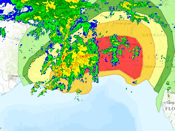 Future Radar 3pm Forecast