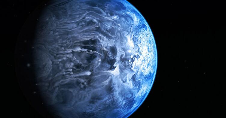 Artist's Conception of Exoplanet HD 189733b