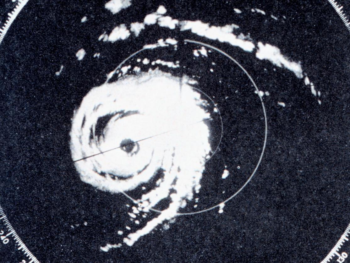WSR-57 Display of Hurricane Donna