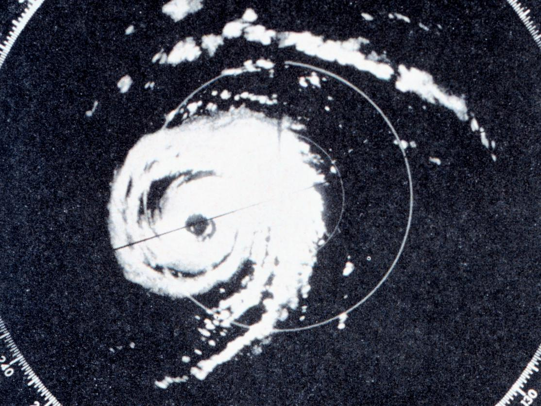 WSR-57 Display of Hurricane Donna