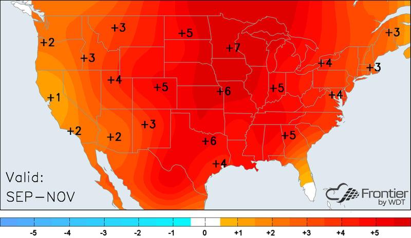 Sep-Nov Forecast