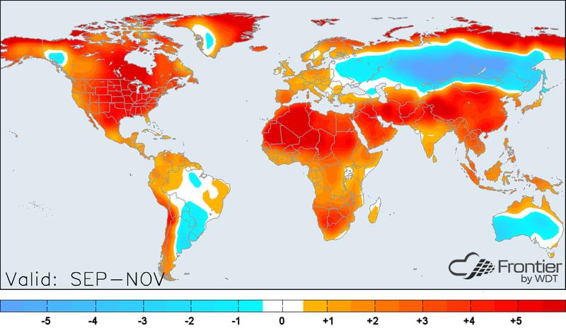 Global Sep-Nov Forecast