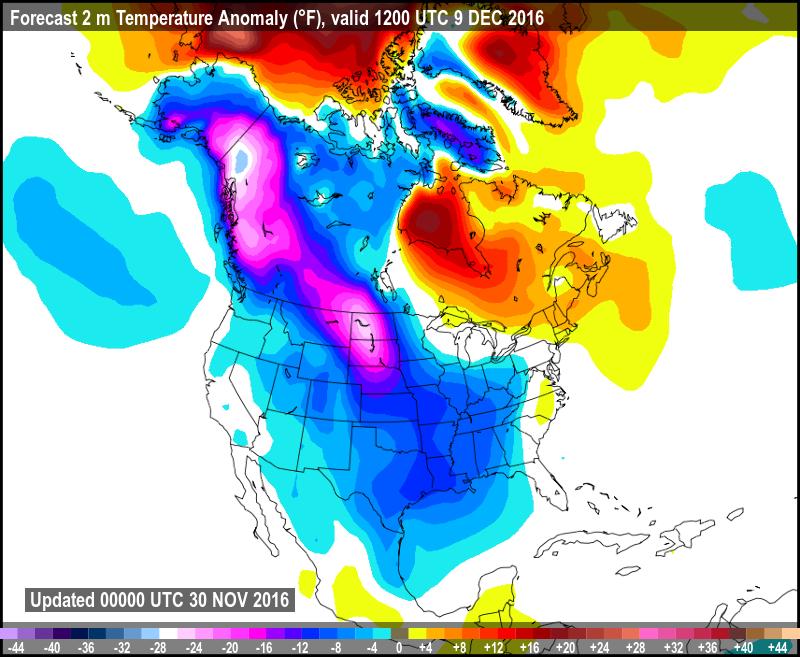 Forecast 2m Temperature Anomaly
