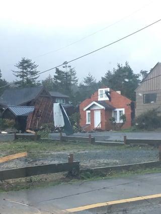 Tornado Damage in Oregon