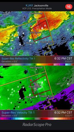 WDT Alerts Those in Tornado Warnings