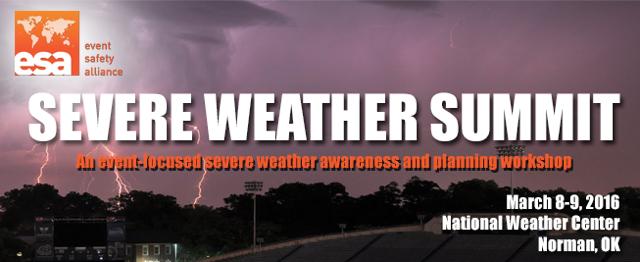 2016 Severe Weather Summit