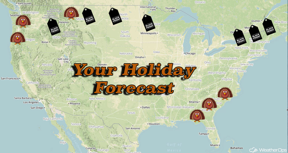 2017 Thanksgiving Holiday Forecast
