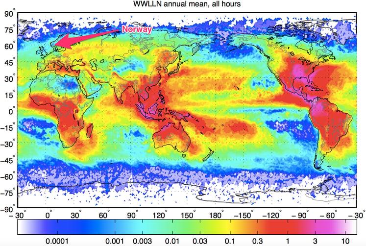 Lightning Climatology
