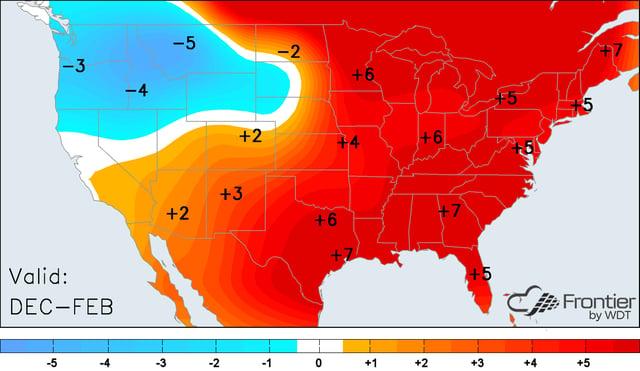 Winter 2016-17 Anomalies