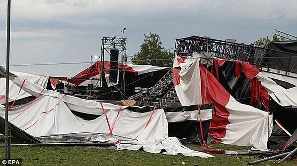 Pukkelpop Stage Collapse