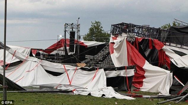 Pukkelpop Stage Collapse