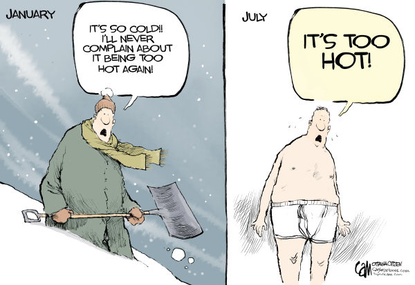 Hot/Cold Cartoon