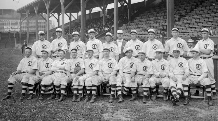 1908 Cubs World Series Team