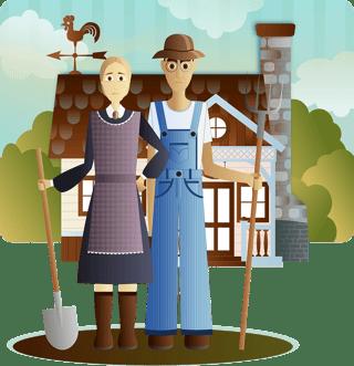 Farmer Graphic