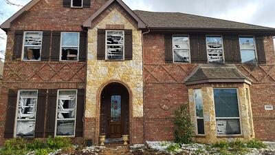 Wylie, TX Hail Damage to Home