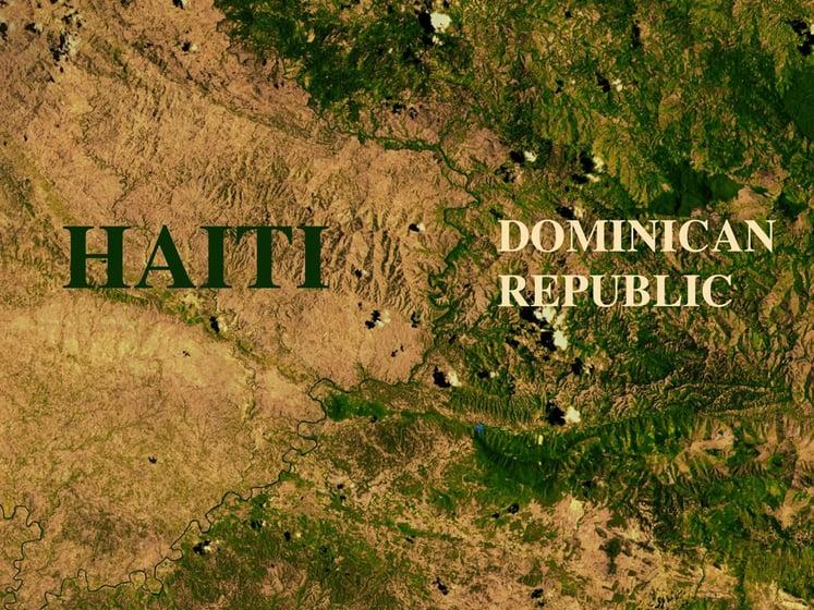 Deforestation in Haiti