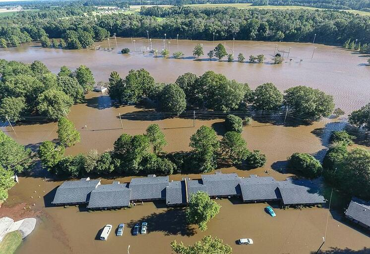 Flooding in NC (Credit ABC News)